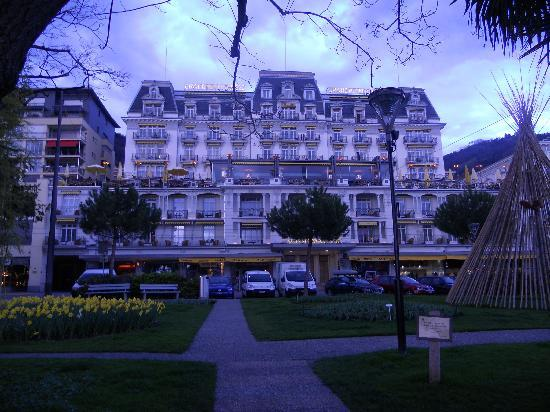 Eden Palace au Lac: View hotel from Lac