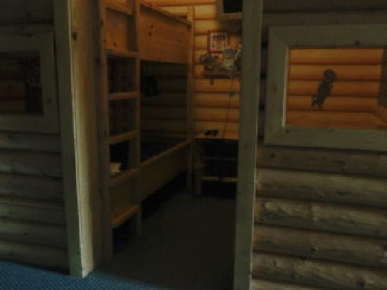 Great Wolf Lodge: Kids Cabin kid area -- NOT for over age 10, too small