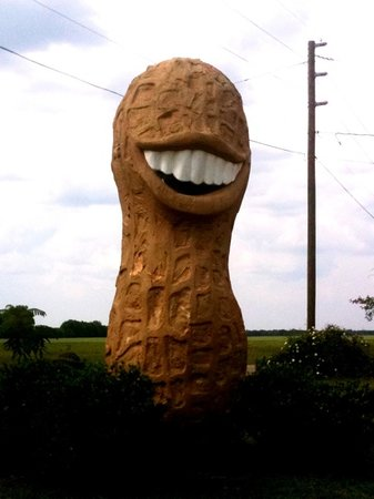 Jimmy Carter Peanut of Plains Statue