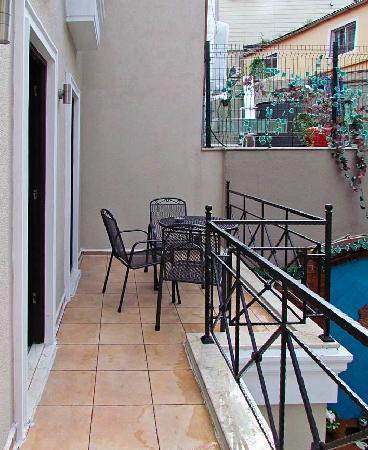 Hotel Seraglio: Balcony outside delux room