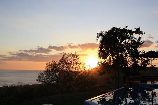 Sunset from Cristal Azul