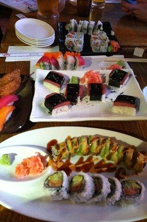 Sushi Park: spam rolls. yes spam rolls