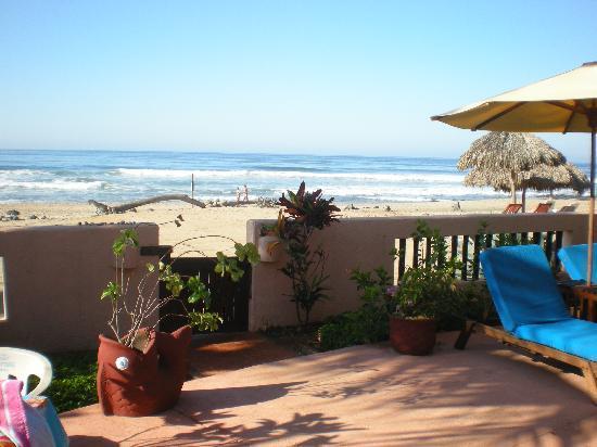 Casa de La Sirena: De la alberca a la playa