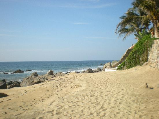 Playa Escondida: La playa