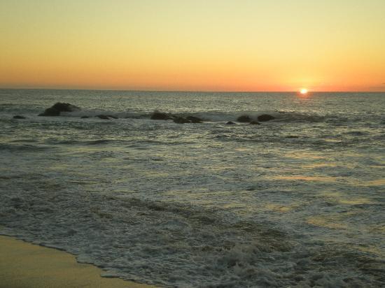 Playa Escondida: Atardecer