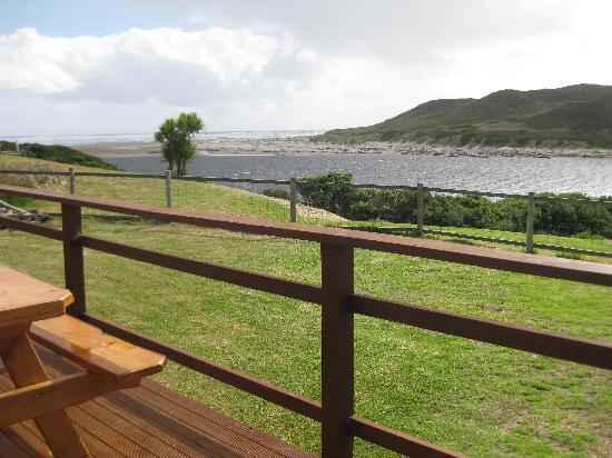 Arthur River Beach House: View from the deck out to sea