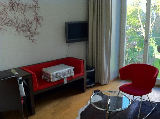Plattenhof Hotel: room