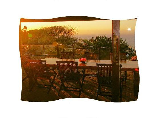 Ramsgate, South Africa: breakfast table
