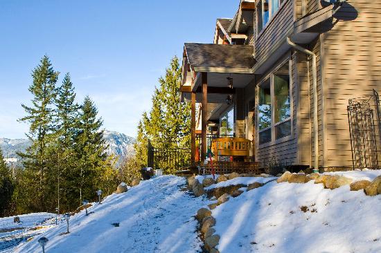 Mt. Woodside Bed & Breakfast: Stunning Mountain Views