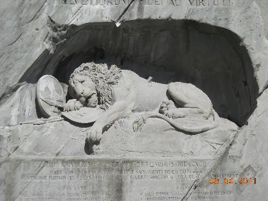 Monumento al león de Lucerna: Pic 1