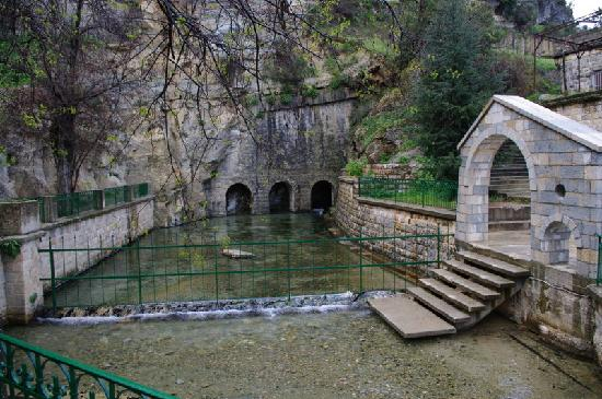 Iris Flower Hotel: Source in Jezzine