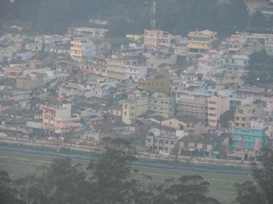 Sterling Ooty Elk Hill: View of Ooty town