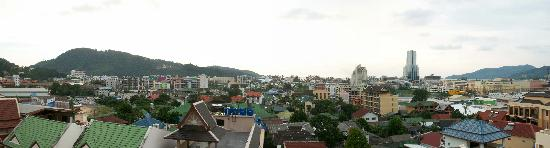 Capri Residence : Panorama dal terrazzo