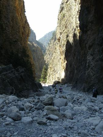 Samaria Gorge National Park: Nelle gole
