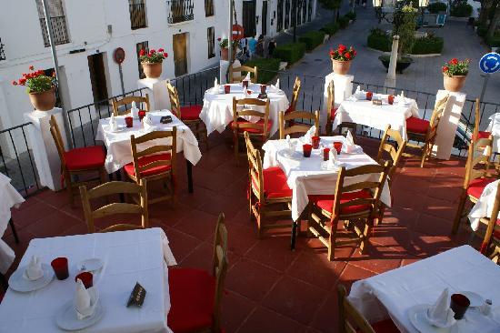 Restaurante El Mirlo Blanco : Terrace Restaurant El Mirlo Blanco