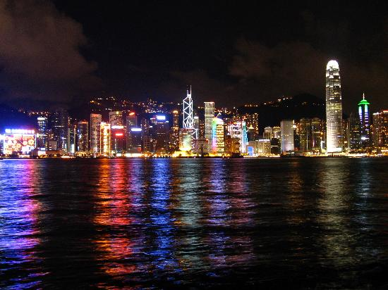 Tst View Of Victoria Harbour And Hk Island Picture Of