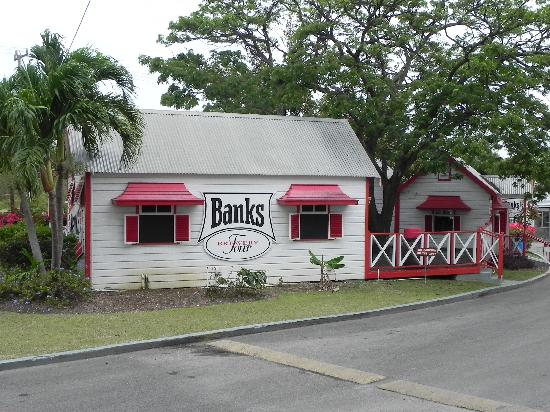 Banks Brewery - beer garden building