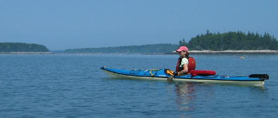 Inn at Round Pond: Paddling on Muscongus Bay