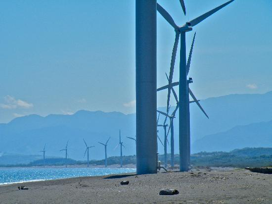 Ilocos Norte Province, Filipina: Bangui wind farm