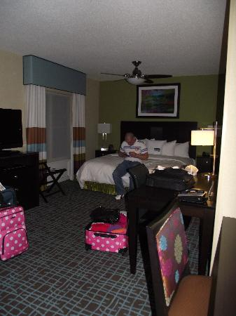 Homewood Suites by Hilton Fort Myers Airport / FGCU: lots of space and love the warm feeling of the colors used