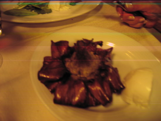 Osteria La Gensola: Deep fried artichoke--a must!