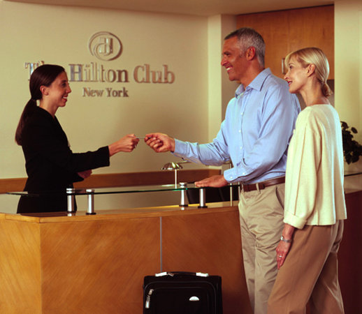 The Hilton Club - New York: Exclusive check in on the 37th floor
