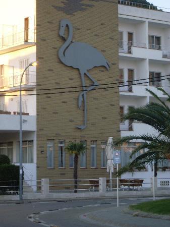 Hotel Flamingo: hotel de l'exterieur