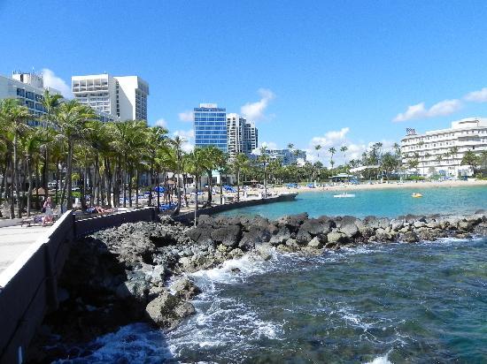Caribe Hilton San Juan Beach Area