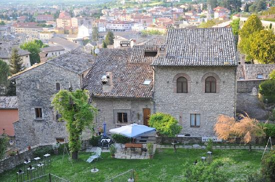 Hotel Clitunno: Spoleto View
