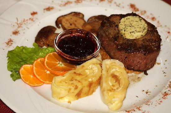 In restaurant - Photo de Gostisce in muzej First, Solcava ...