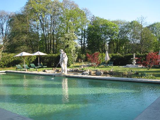 Chateau De Germigney: piscine naturelle