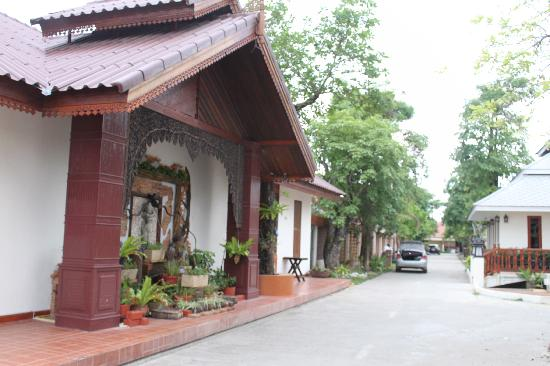 Wiangsiri Lamphun Resort : In front of the function room