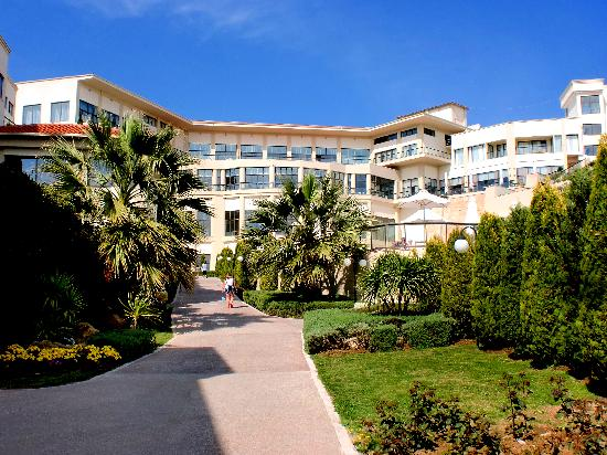 Ikos Oceania: The hotel main building