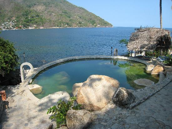 Yelapa, Meksiko: The pool