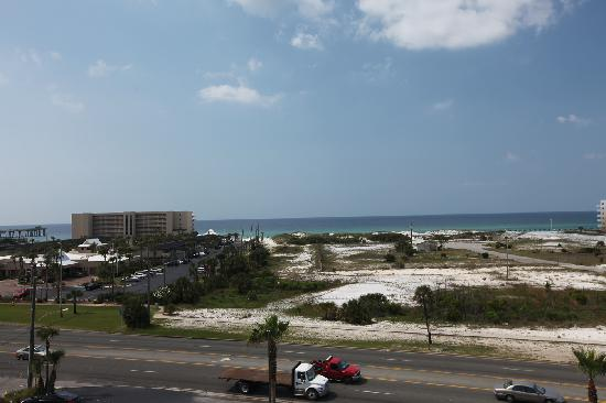 Emerald Coast Inn Suites View From Hotel