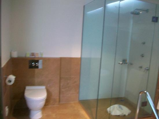 Ohtel: The bathroom in the suite, room #6