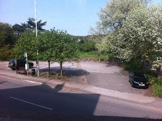 The Hop Pole: Pretty view from window (v quiet) with park beyond