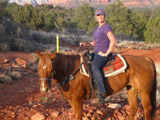Red Moon Ranch: Me on Scooby