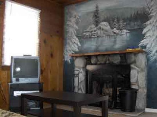 Lakewood Cabins at Big Bear Lake: 1 Bedroom Cabin - Living Area