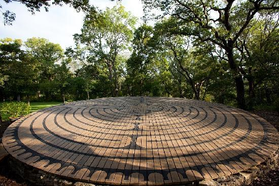 The Red Corral Ranch: Our walking labyrinth is a beautiful site for meetings, wedding ceremonies, and personal meditat