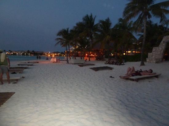 Na Balam Beach Hotel Looking East