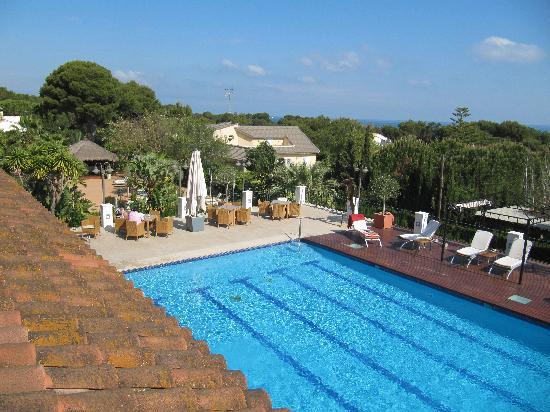 Les Rotes Hotel : la piscina