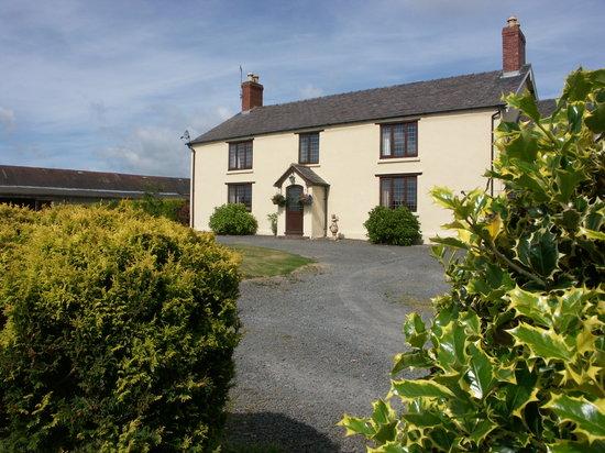 Graig Farm Cottages: Graig Farm House.