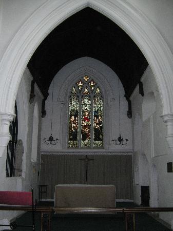 St Bene't's Church (Church of England): Der Altar