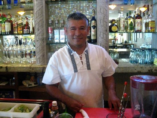 Restaurante de Ramon at Sonoran Sea: Ramon Ramos el propietario