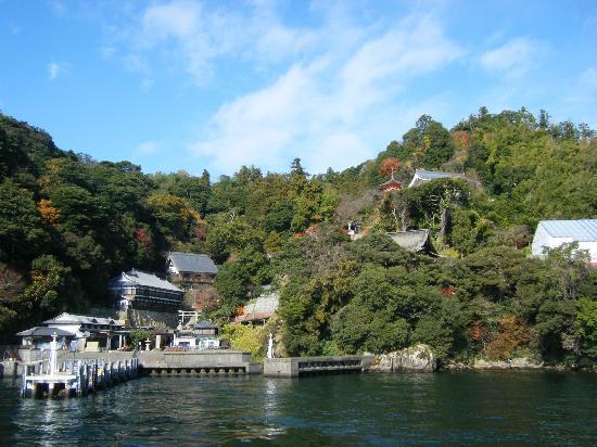 Nagahama, Japón: 〝竹生島〟