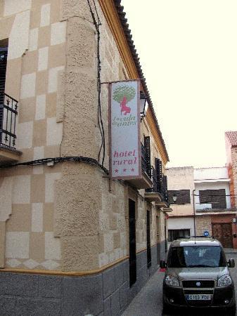 La Vida de Antes Rural Hotel: Front of Hotel