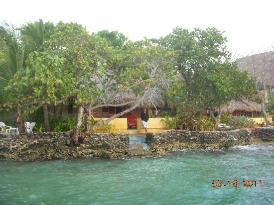 Isla del Pirata : View of our room