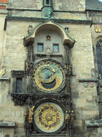 Prague, Czech Republic: Astronomy clock