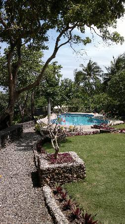 Padre Burgos Castle Resort: Great garden & pleasant pool